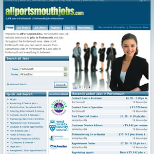 click here to visit All Portsmouth Jobs website