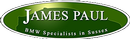 logo for James Paul Car Sales